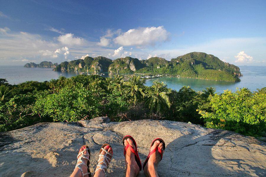 Thailand Koh Phi Phi uitzicht