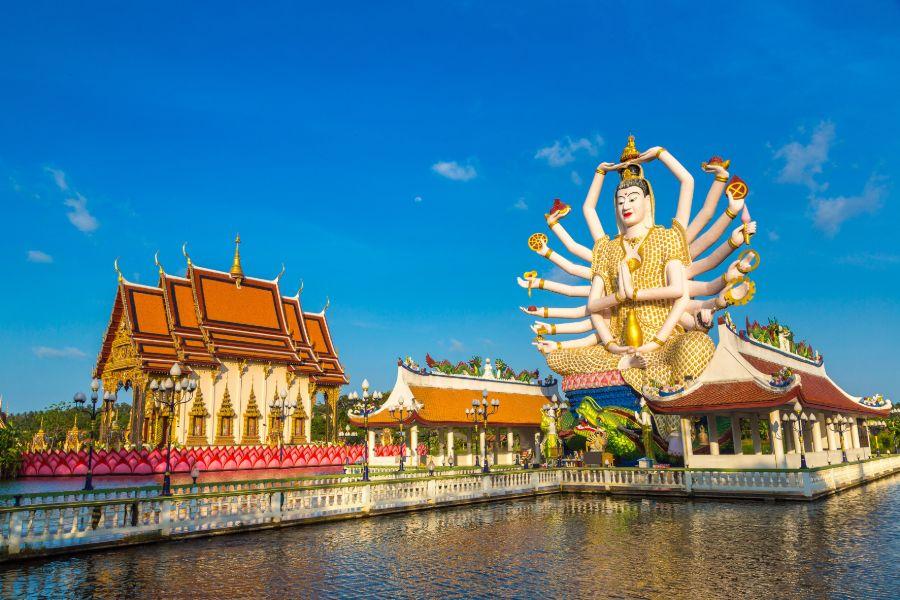 Thailand Koh Samui Wat Plai Laem