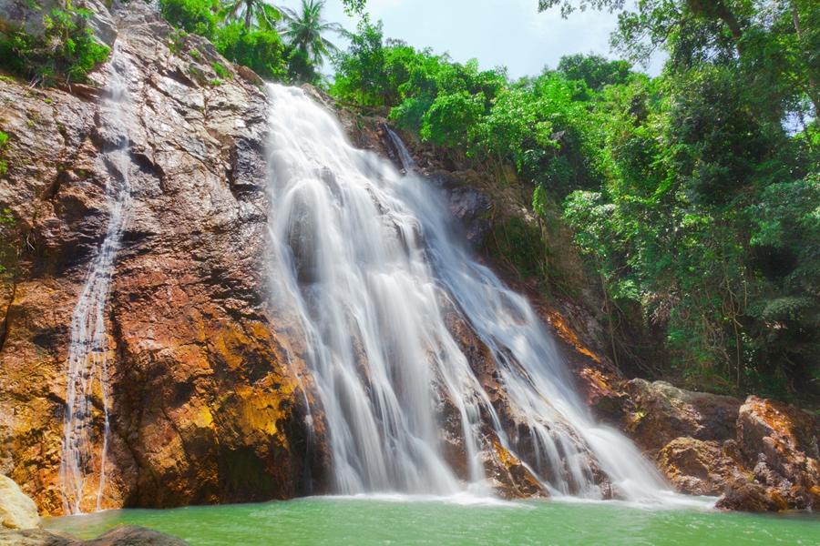 Thailand Koh Samui Waterval