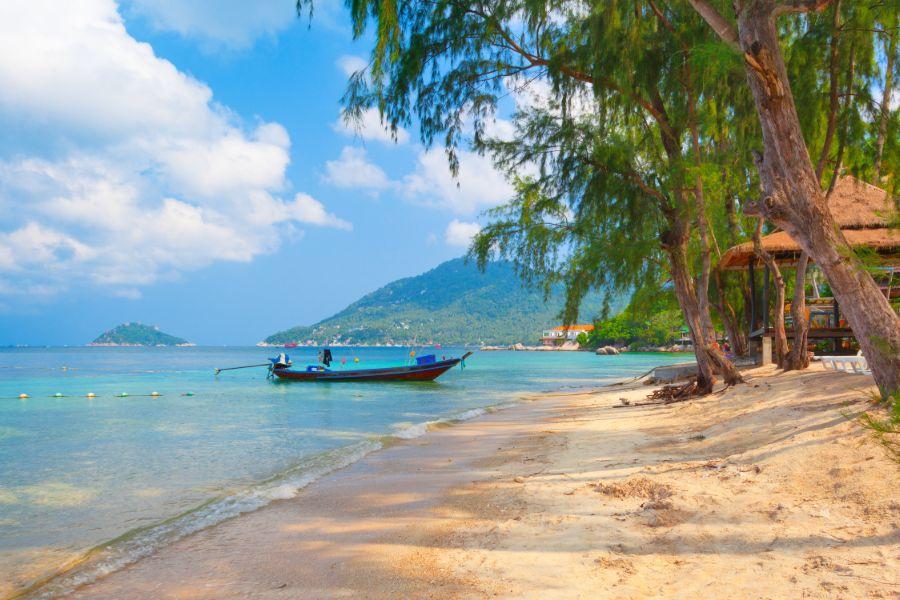 Thailand Koh Tao Boot