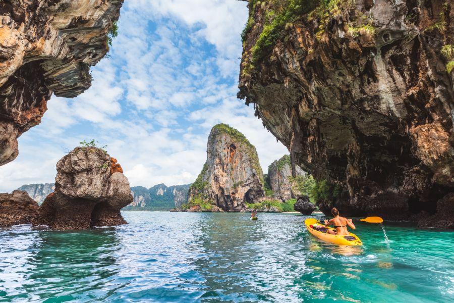 Thailand Krabi Kanoeen