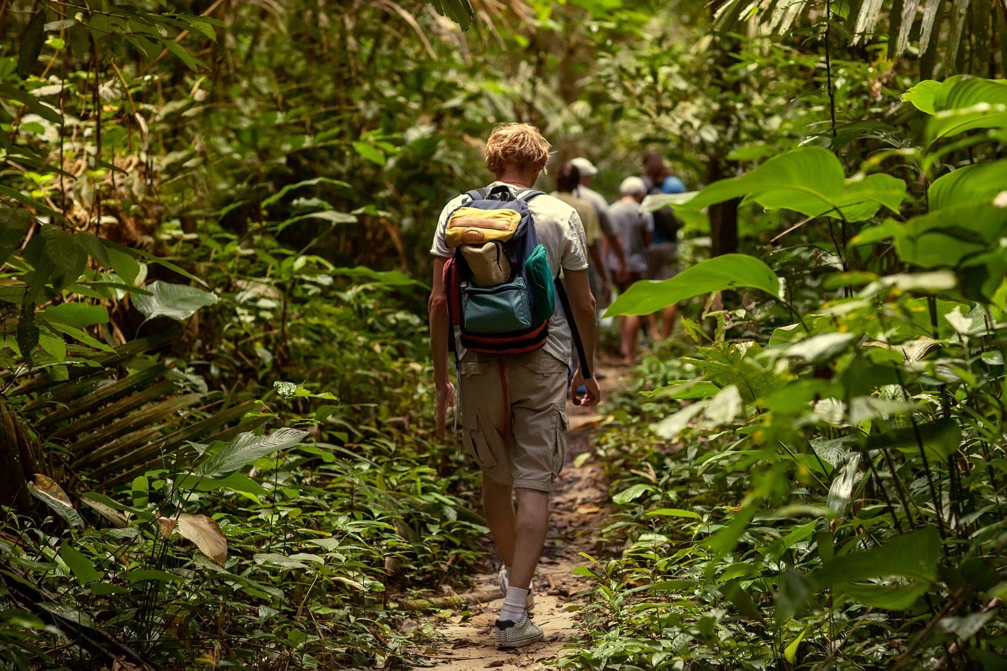 Thailand Noord Thailand Jungle trekking