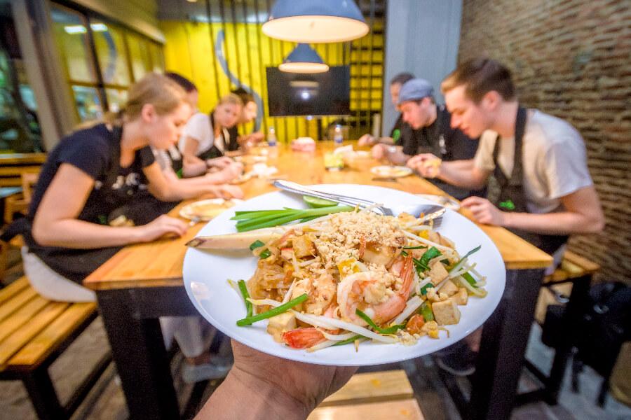 Thailand Pad thai Go Cooking Kookcursus Bangkok