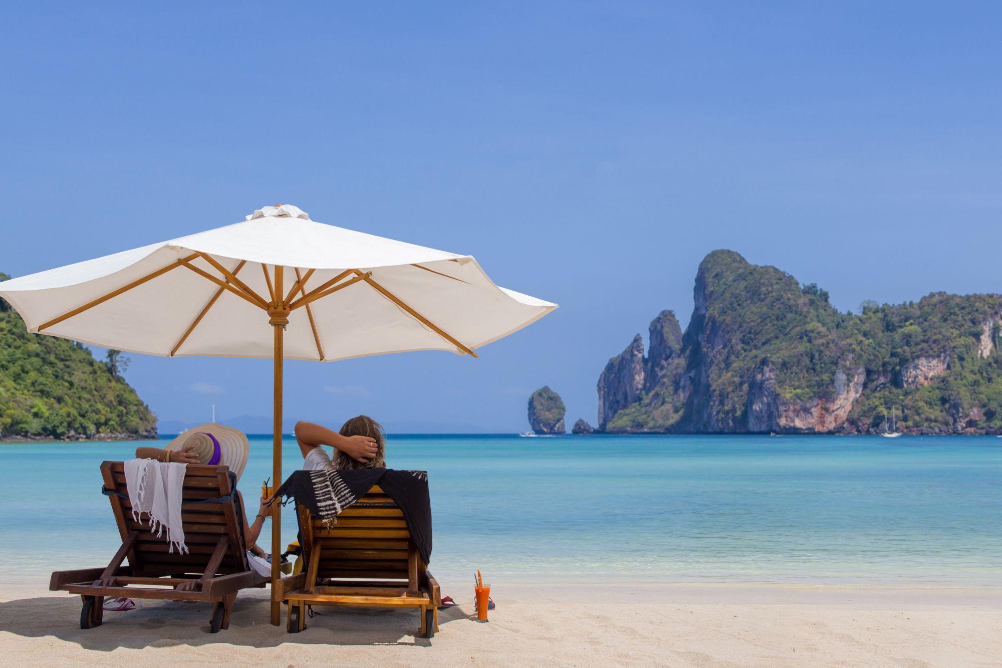 Thailand Phuket Strand