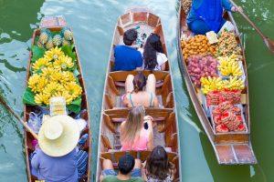 Drijvende Markt en River Kwai tour
