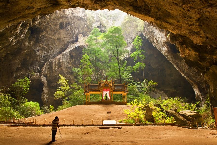 Thailand Tempel nabij Hua Hin