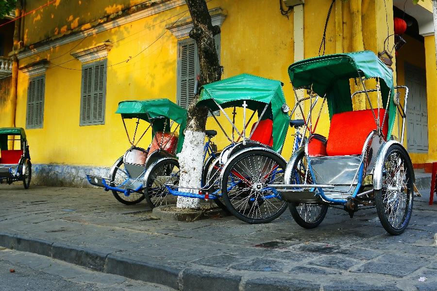 Vietnam Hanoi Riksja