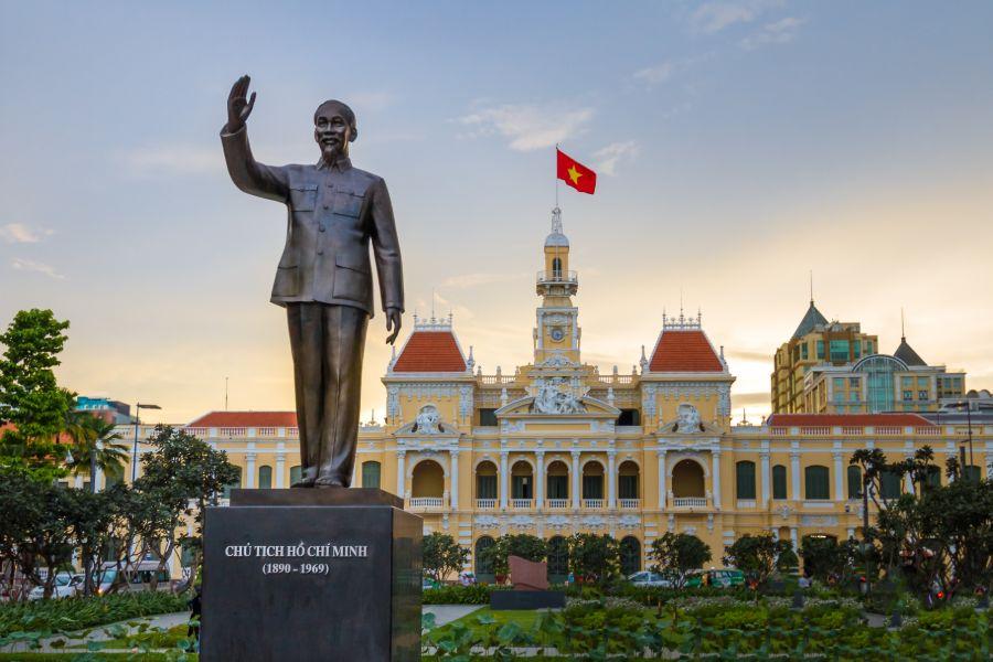 Dag 2: Ho Chi Minh stad