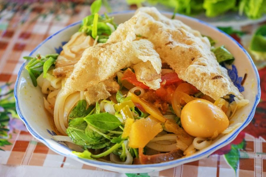 Vietnam Hoi an Noodle Mi Quang