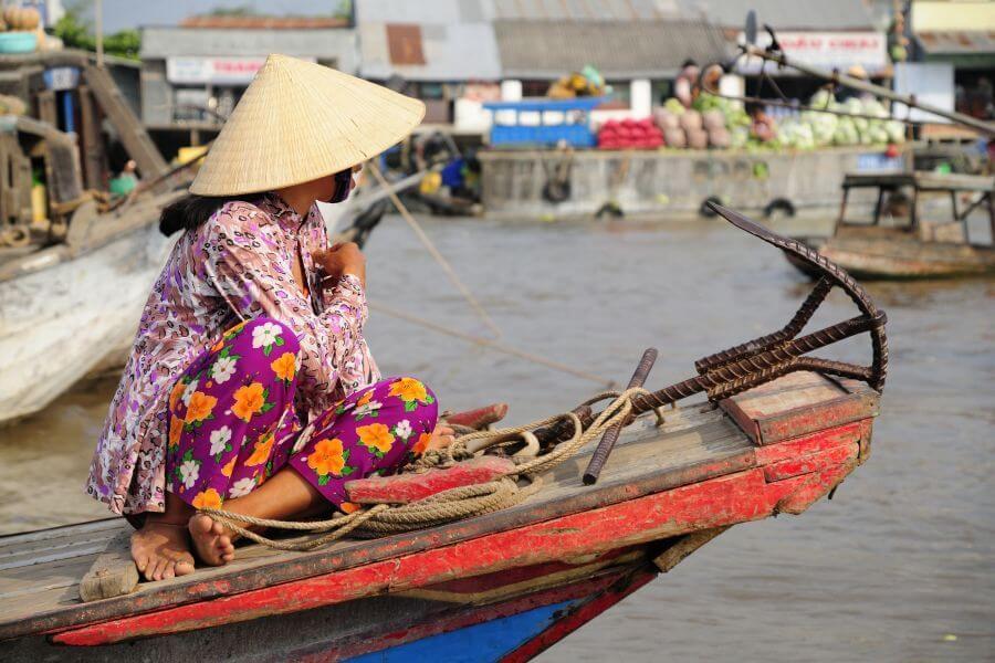 Dag 7: Chau Doc – Phnom Penh