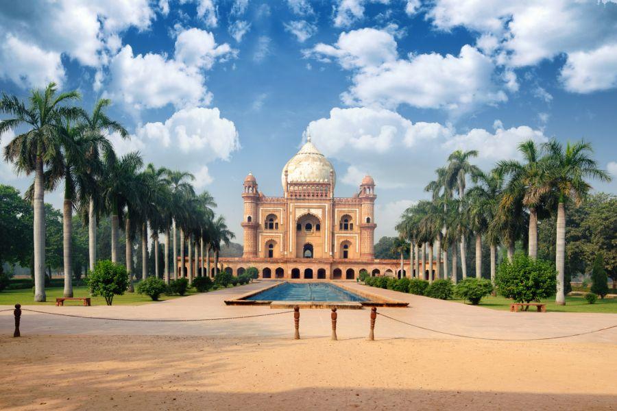 India Delhi tombes en tuinen