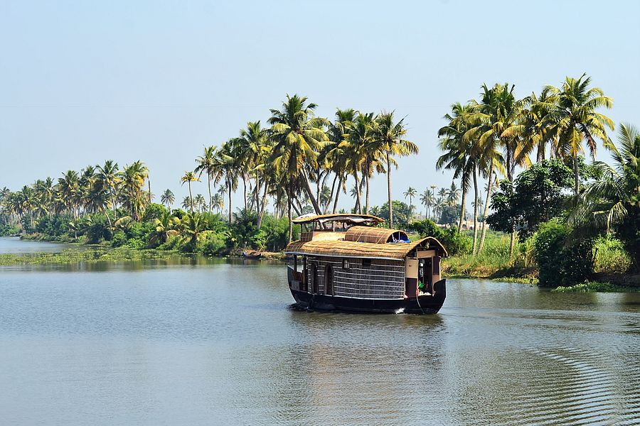 India Alleppey Houseboat