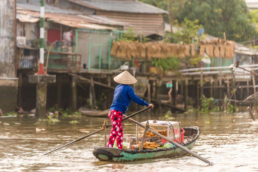 Cai Rang Floating Market Can Tho 3