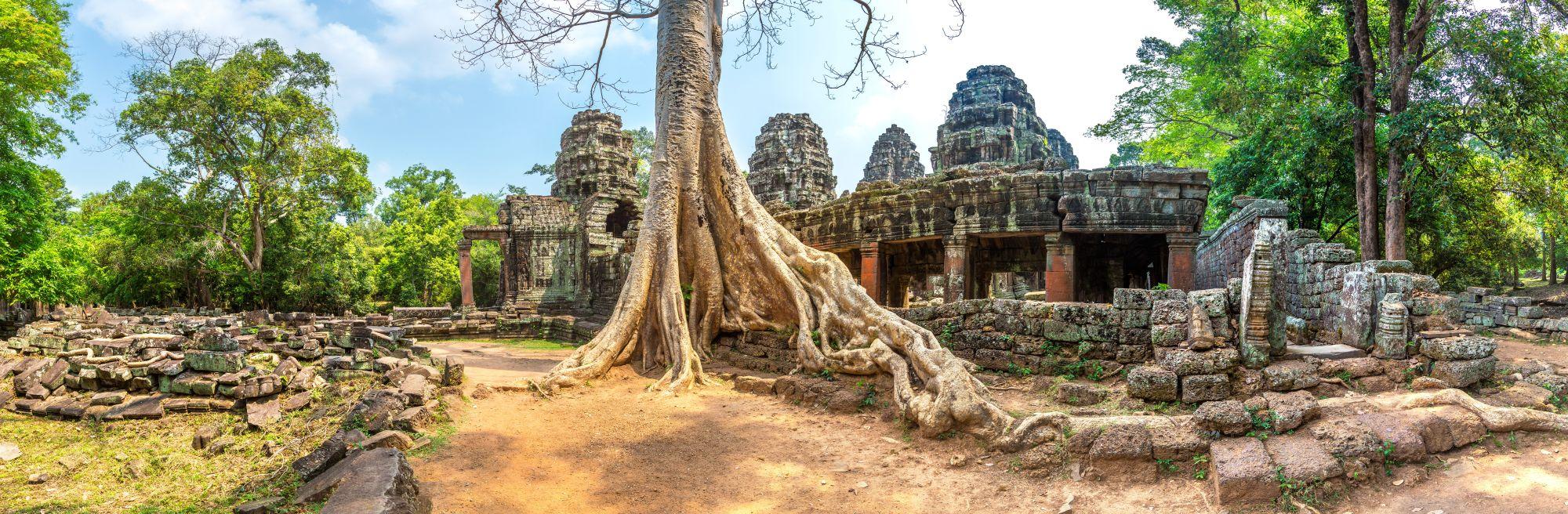 Cambodja Angkor Wat Banteay Kdei tempel