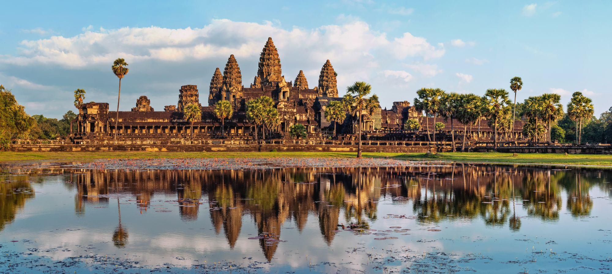 Cambodja Angkor Wat Khmer architectuur