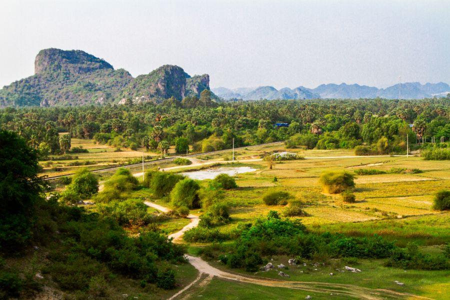 Cambodja Kep Natuur