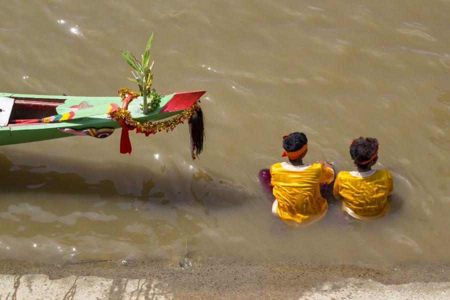 Cambodja Phnom Penh Mekong River.