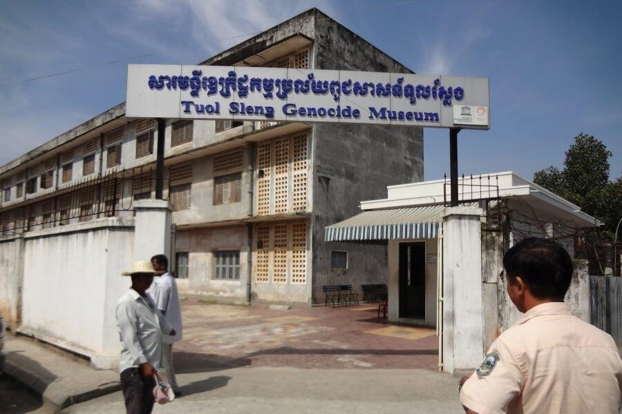 Cambodja Phnom Penh Tuol Sleng Museum