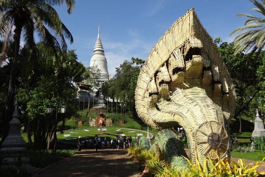 Cambodja Phnom Penh Wat Phnom