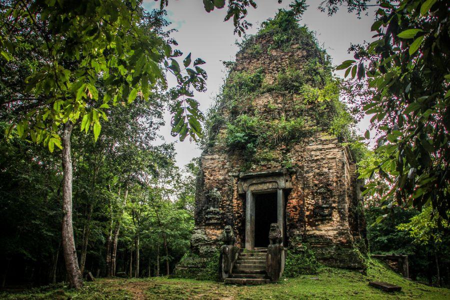 Cambodja Sambor Prei Kuk 4