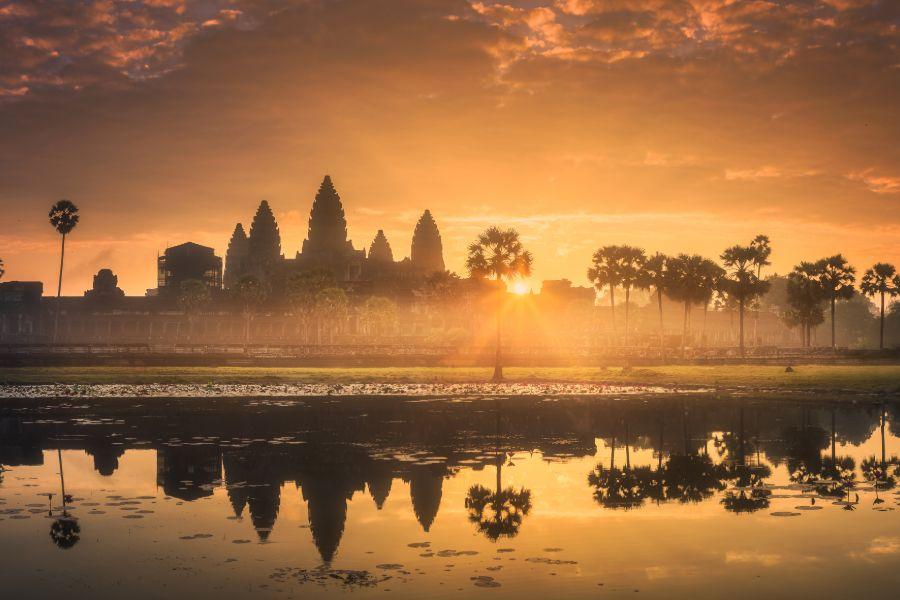 Cambodja Siem Reap Angkor Wat 7