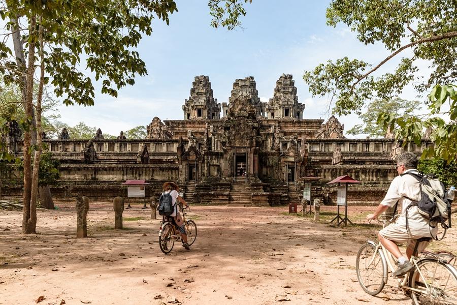 Cambodja Siem Reap Angkor Wat fietsen 4