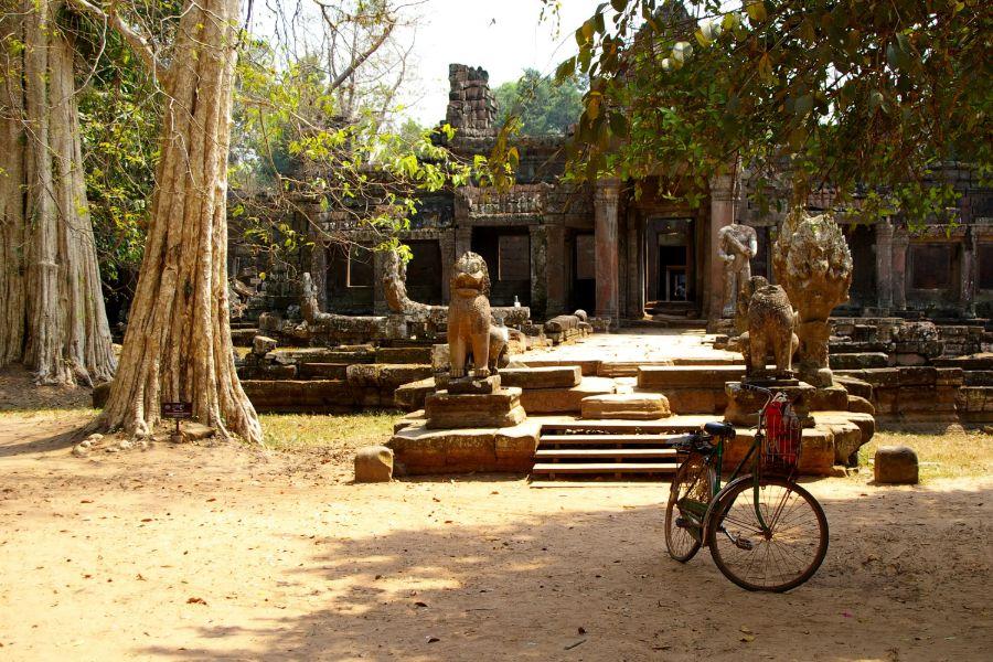 Cambodja Siem Reap Angkor Wat fietstour