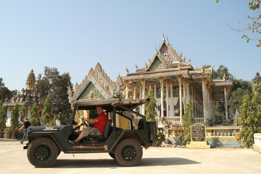 Dag 3: Phnom Koulen per jeep