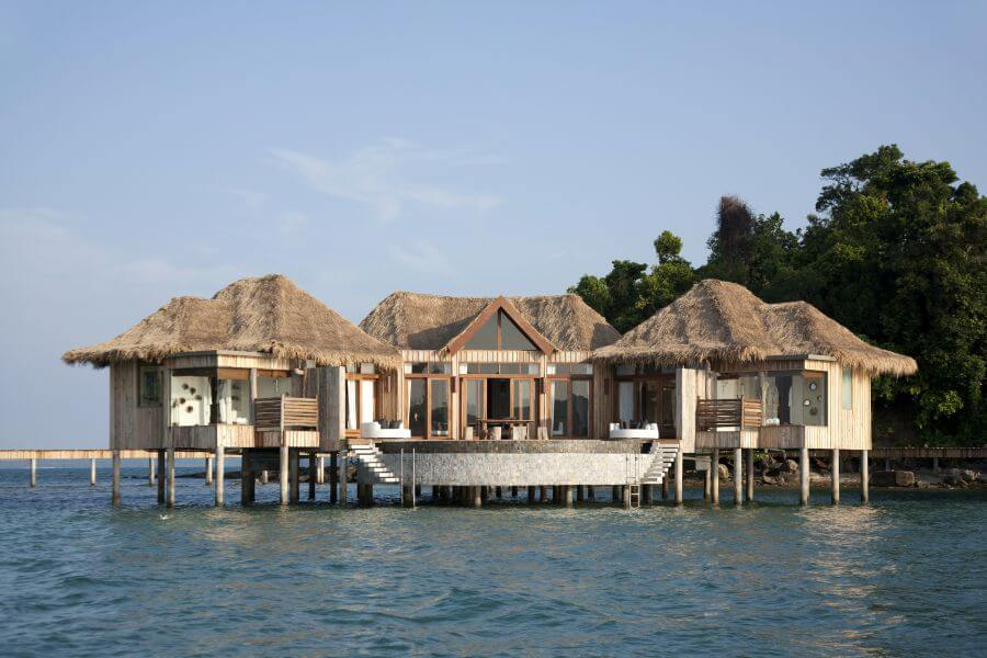 Cambodja Song Saa eiland resort villa zee