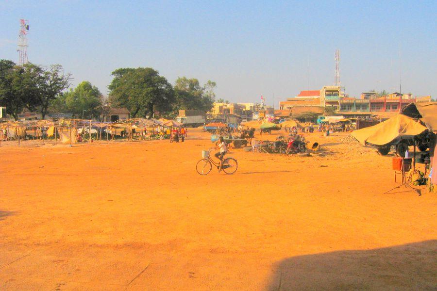 Cambodja Spinnen Markt Skuon 3