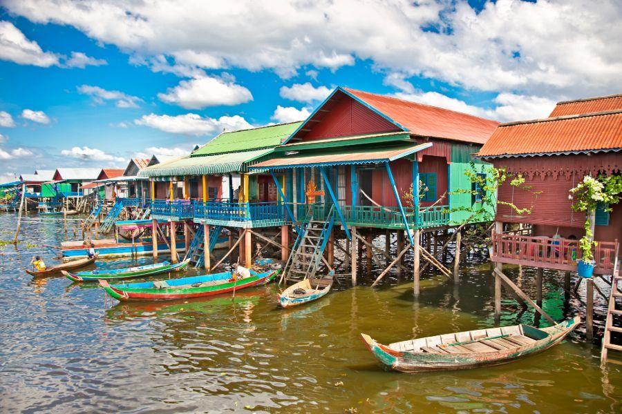Dag 4: Siem Reap - Countryside dagtour