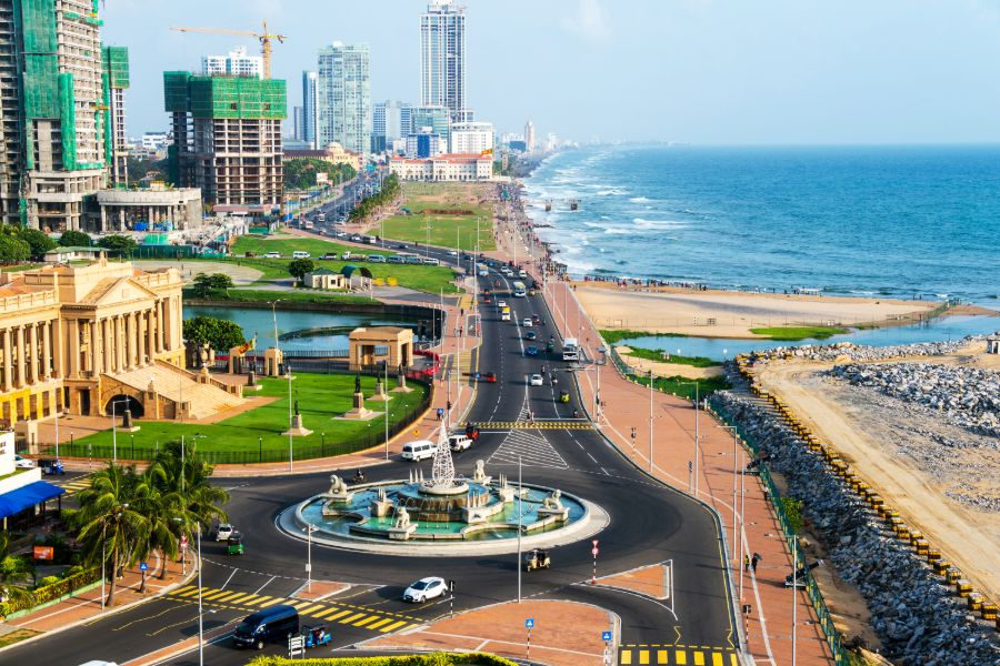Dag 21: Colombo – Airport