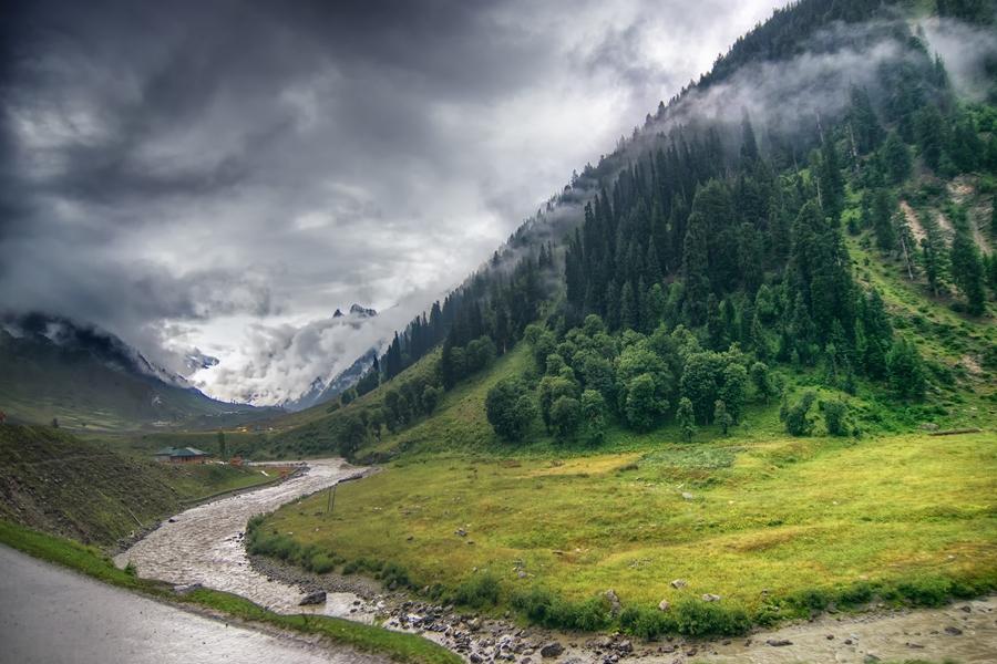 India Ladakh klimaat in de groene vallei