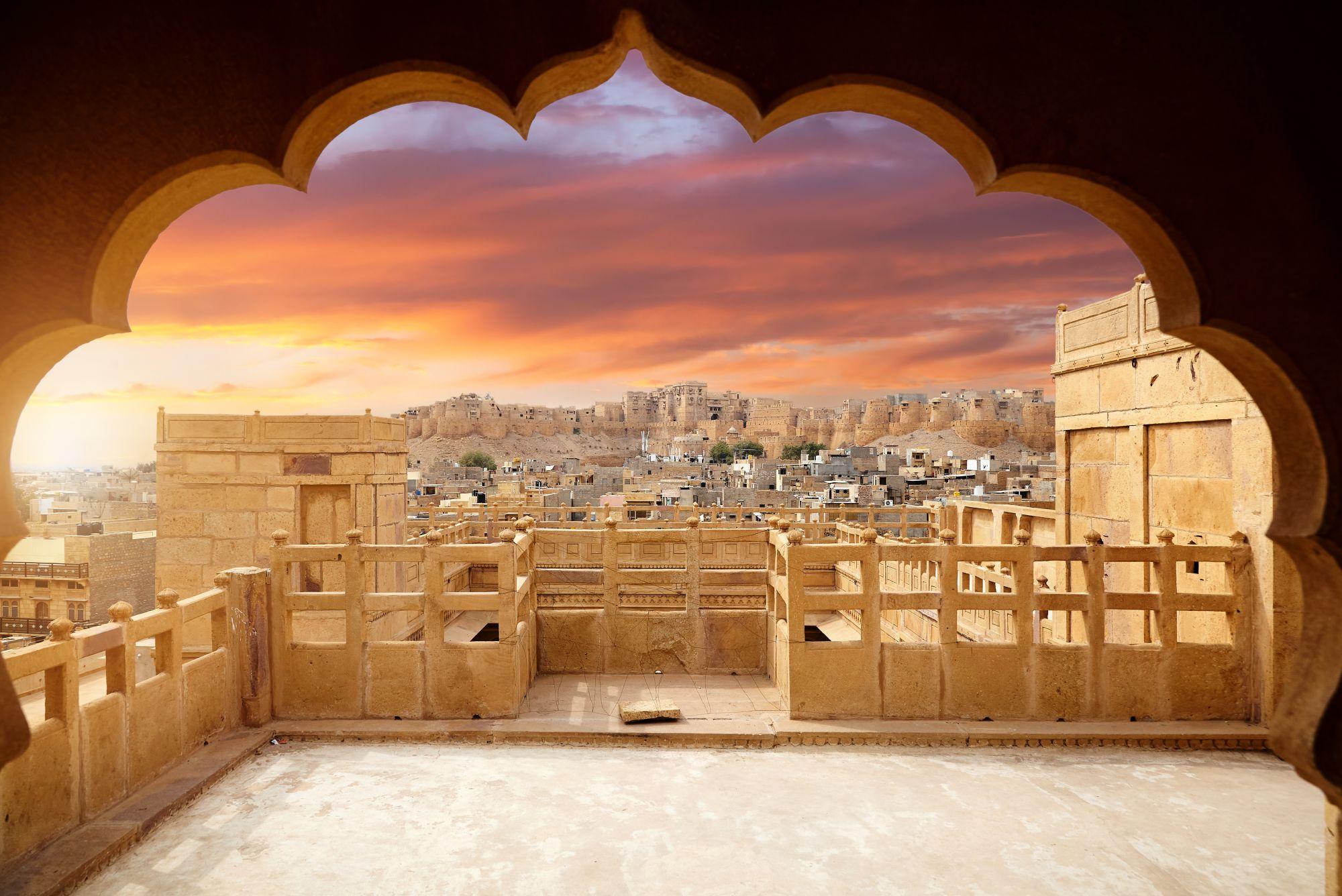 India Rajasthan Jaisalmer fort