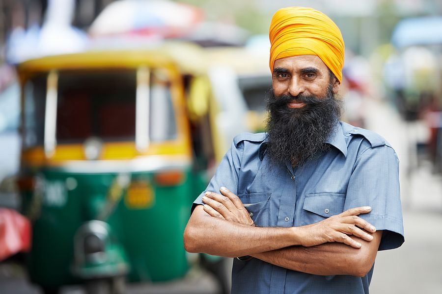 Indian taxi tuktuk rickshaw 03