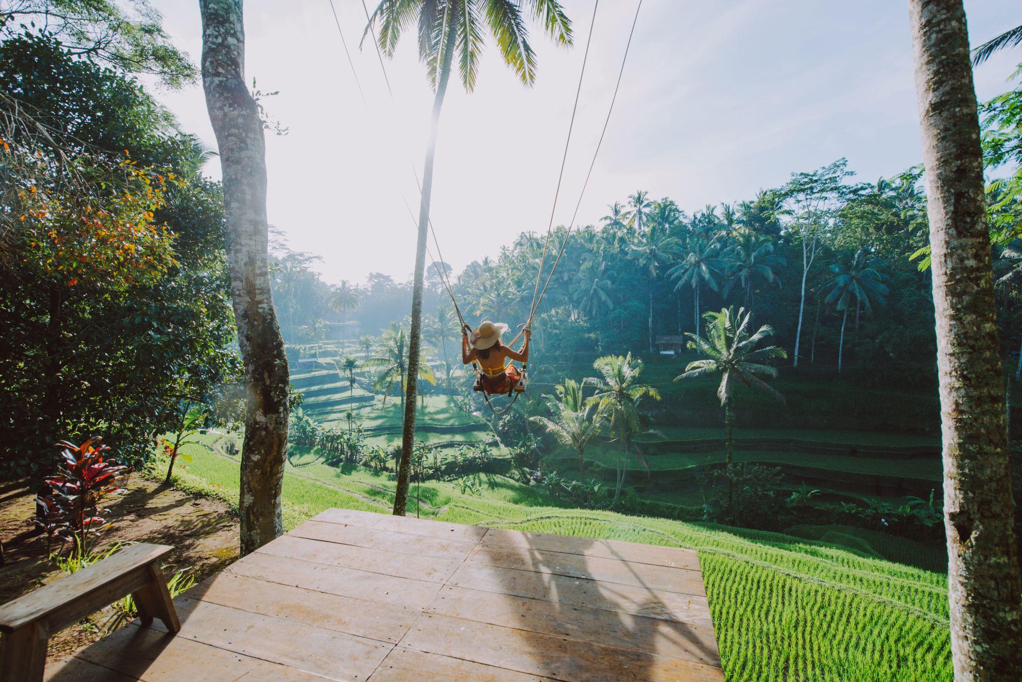 Indonesie Bali Big Swing