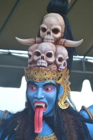 Indonesie Bali Nyepi 14