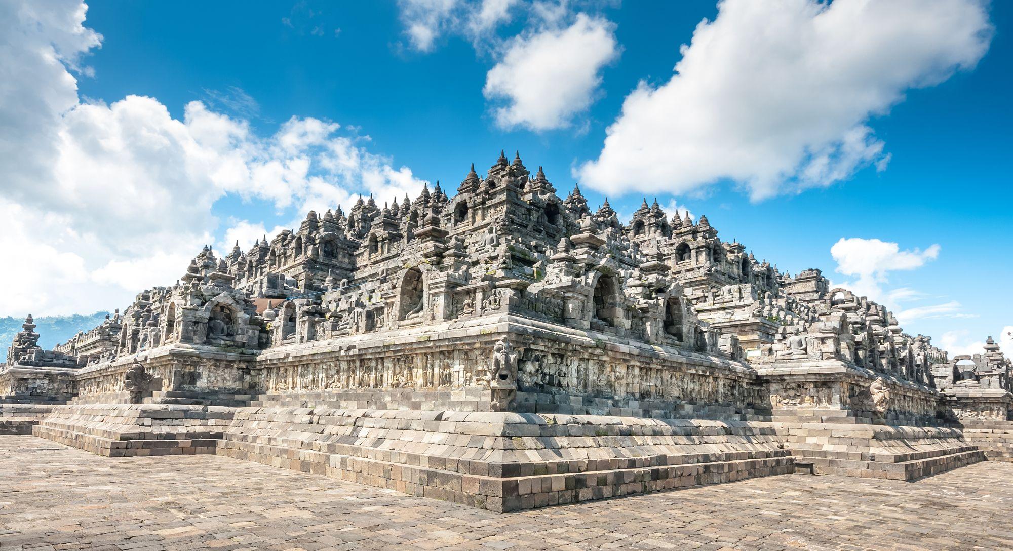 Indonesie Borobudur tempel Jogjakarta