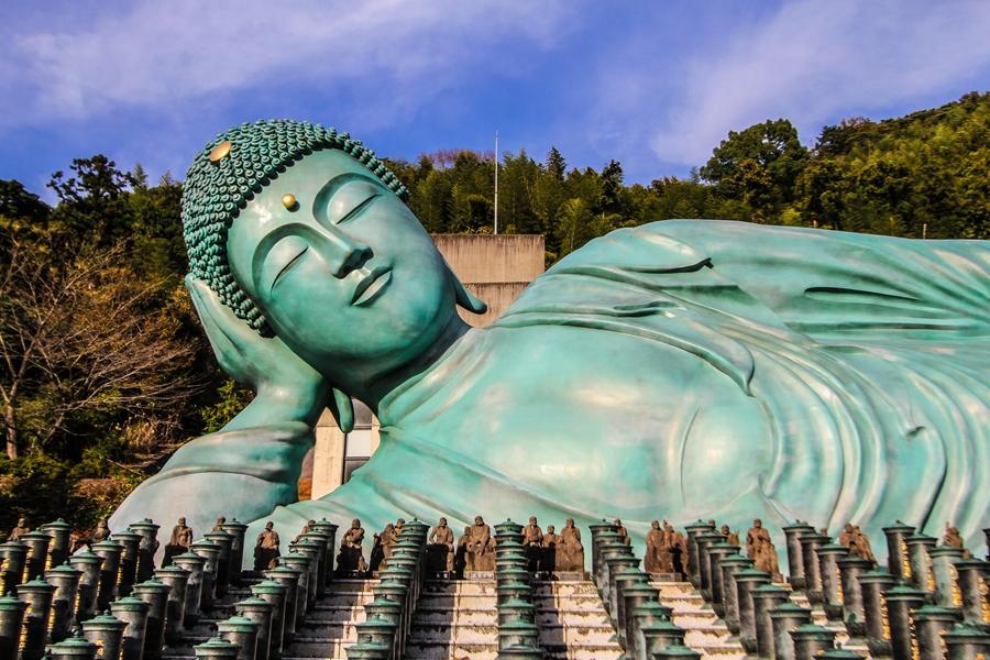 Japan Fukuoka Liggende Boeddha