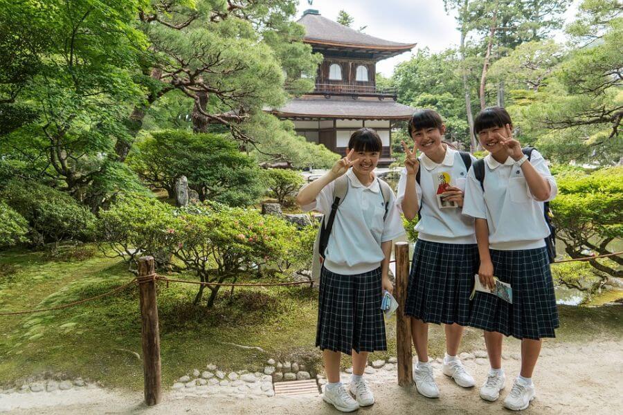 Japan Kyoto Arashiyama bamboebos 17
