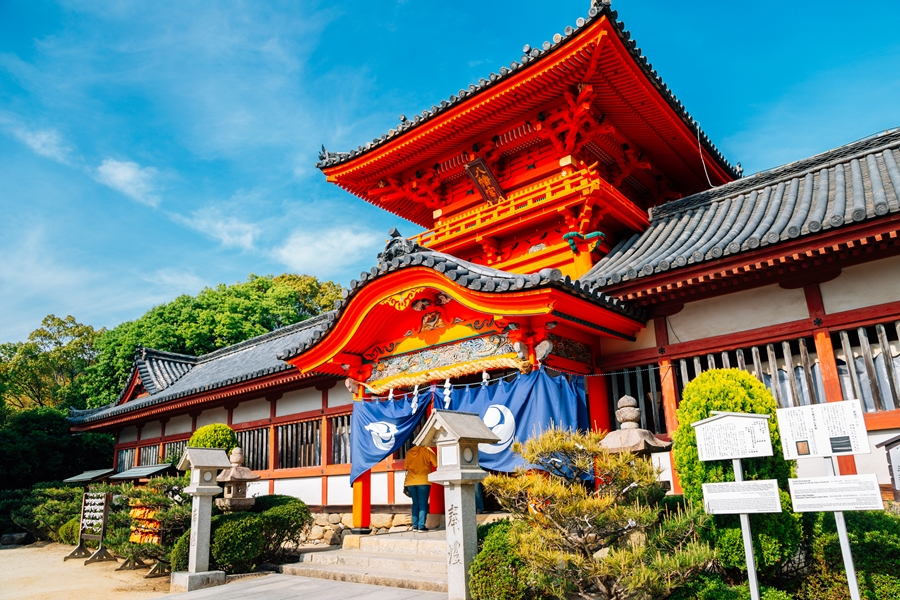 Japan Matsuyama Tempel