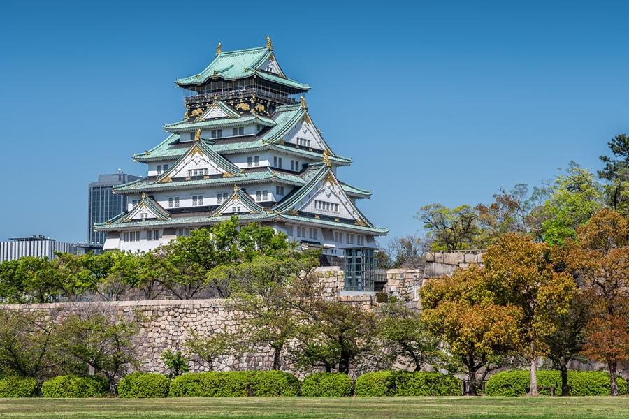 Japan Osaka Kasteel