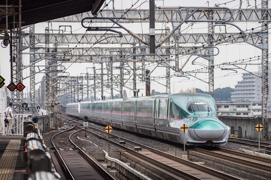 Japan Shinkansen bullet train 2
