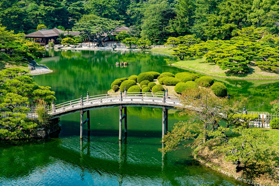 Japan Takamatsu Brug