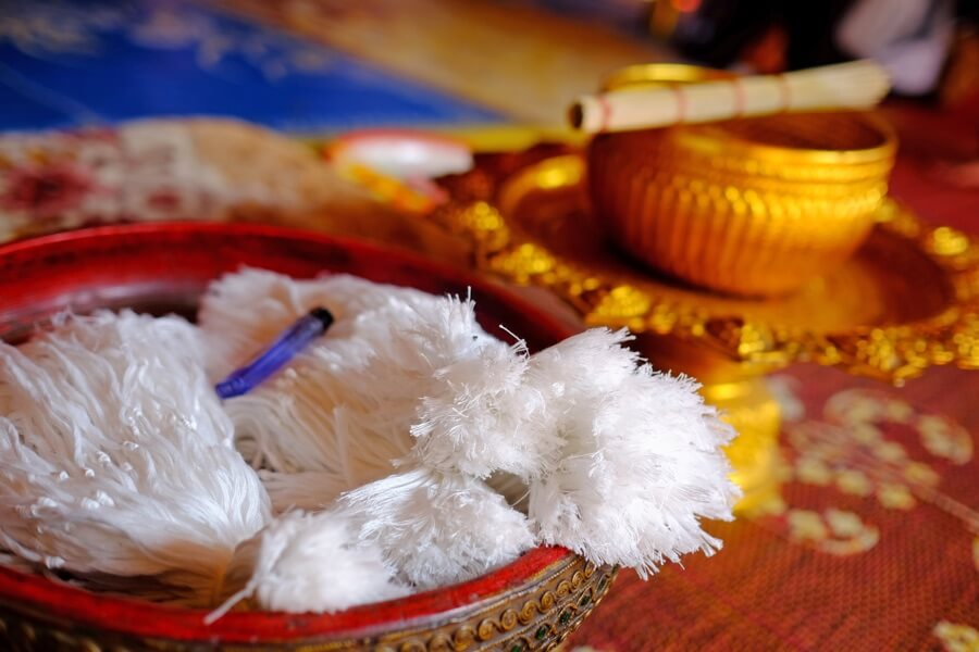 Laos Luang Prabang Baci ceremonie