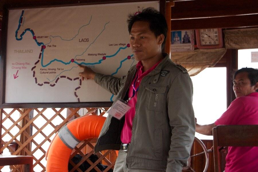 Laos Luang Prabang Shompoo Cruise Houay Xay gids