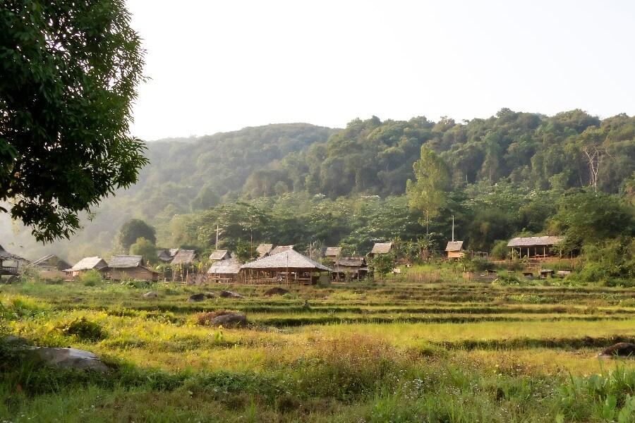 Laos Luang Prabang dagtrekking Thin Pha Trail 7
