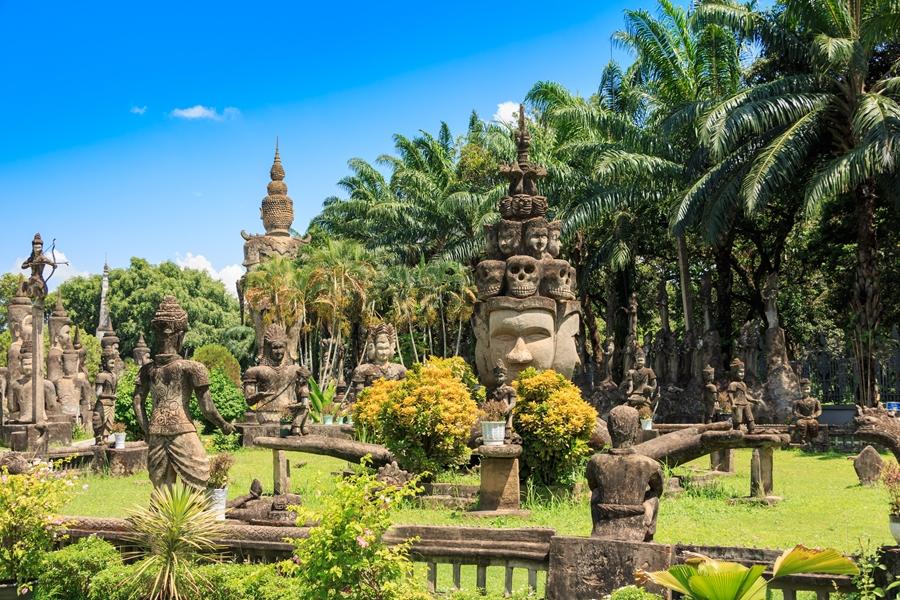 Laos Vientiane Boeddha Park