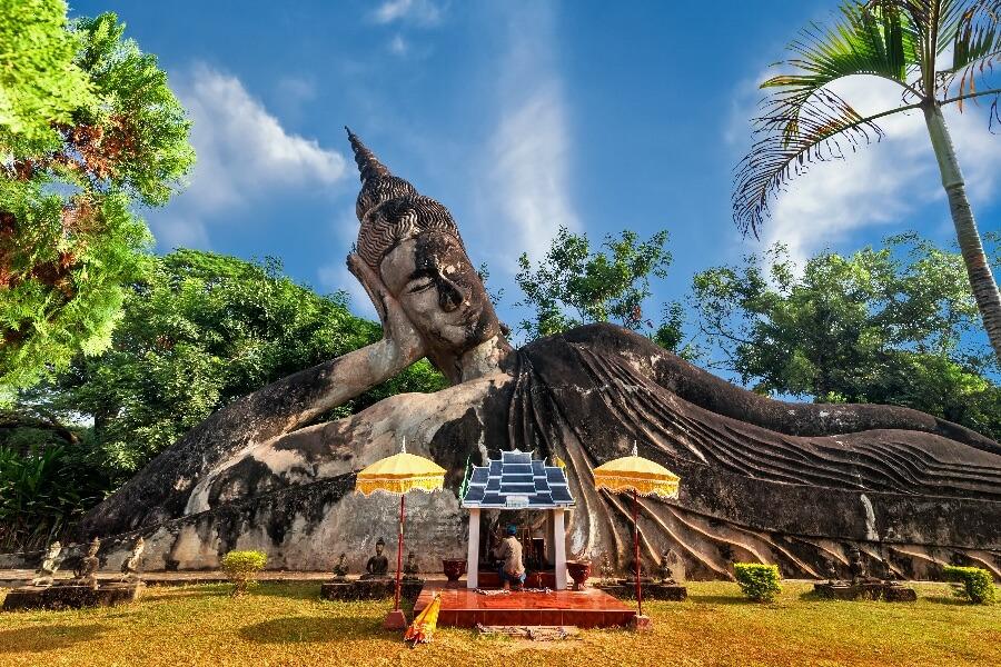 Laos Vientiane Boeddha park Wat Xien Khuan