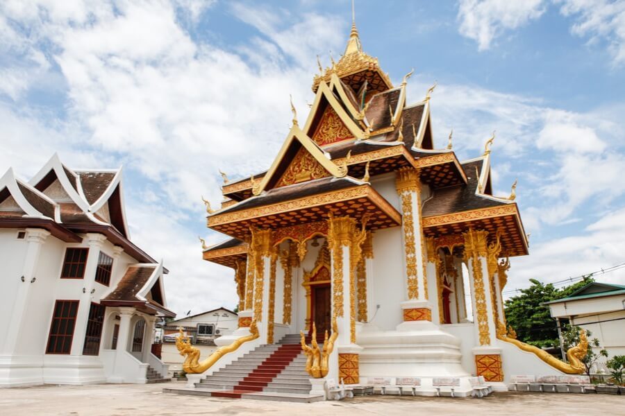 Laos Vientiane Fietstour